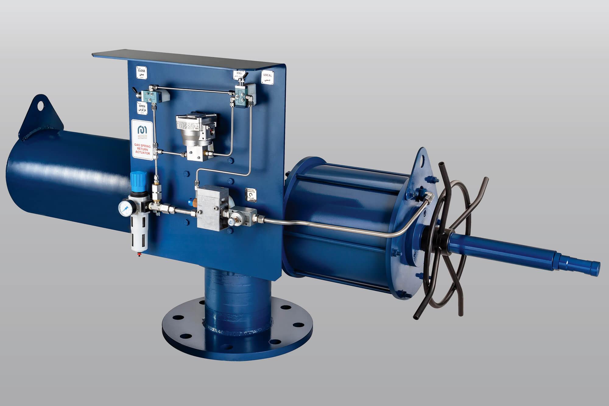 pneumatic actuators – Mobin Automation